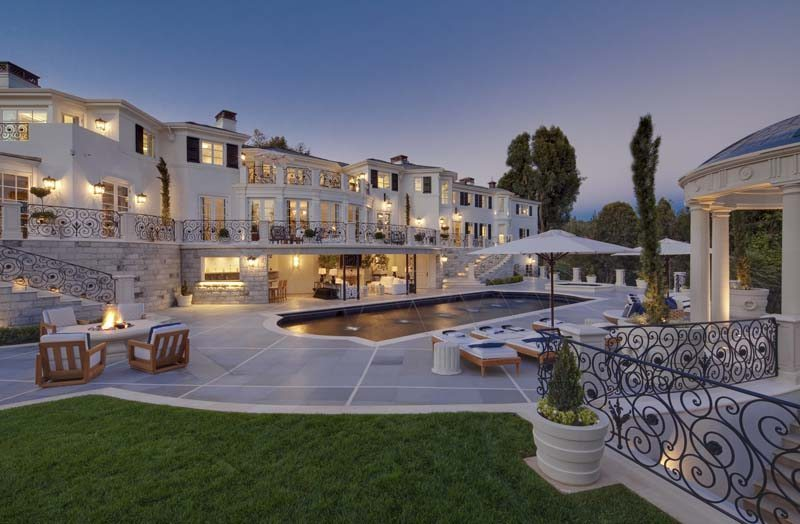 Top 10 most expensive homes in los angeles reh real estate for Houses to buy in los angeles