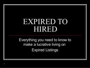 03/22/17  Expired Listings @ REH Real Estate South Pasadena