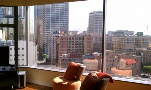 How Much is a Great View Worth REH Real Estate Downtown Los Angeles View from Loft