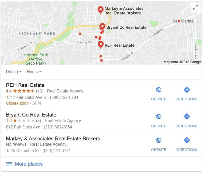Google My Business Trust based Business Building Your Social Proof Online Reputation best Real estate company to work for best real estate agent training reh real estate