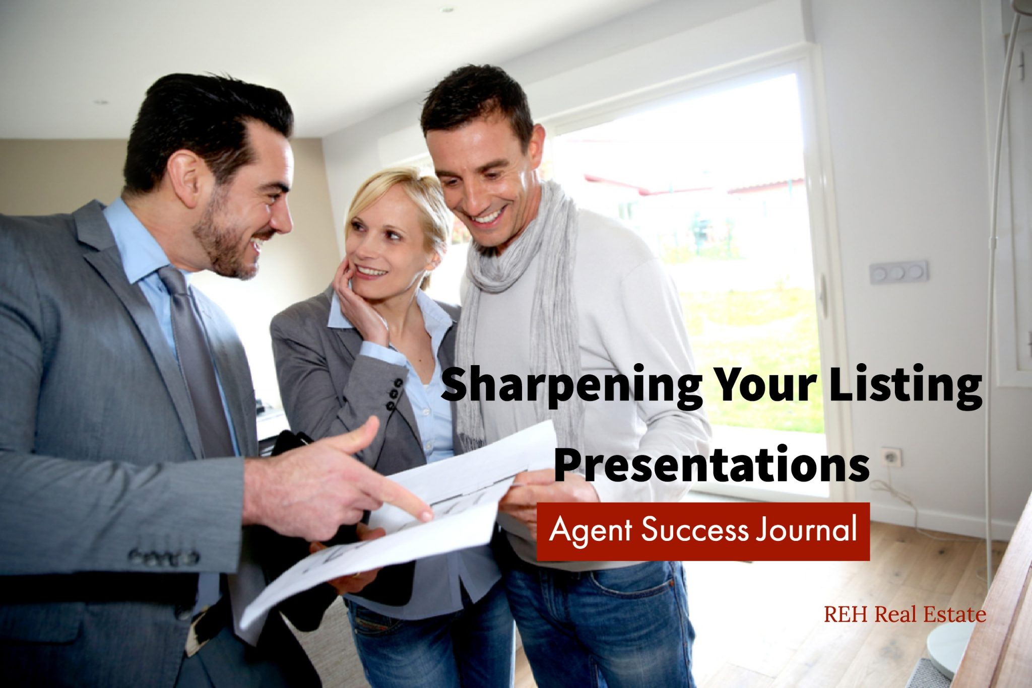 agents  master your listing presentation