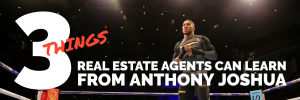 3 Things real estate agents can learn from Anthony Joshua best real estate company in los angeles best real estate coaching best real estate agent training reh real estate
